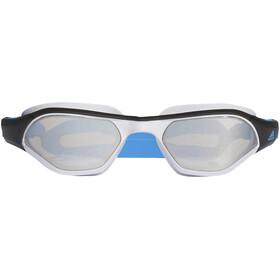 adidas Persistar 180 Gafas de natación Hombre, silver met./bright blue/bright blue